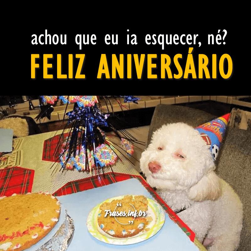 Feliz aniversário amiga engraçado