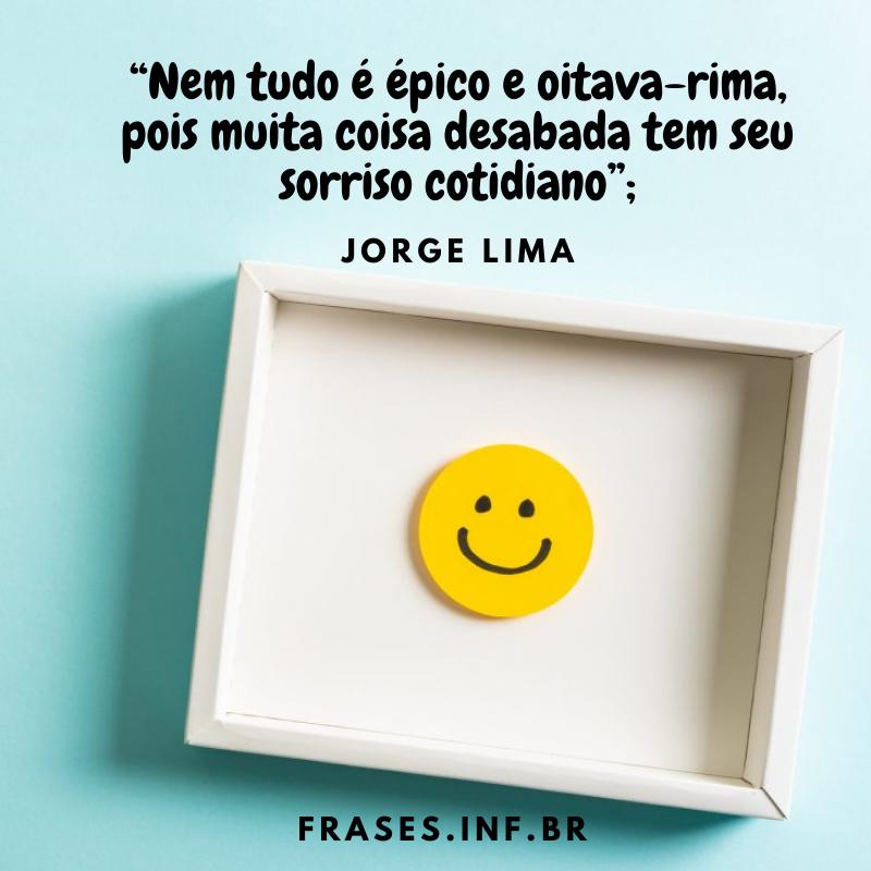 Frase de Jorge Lima