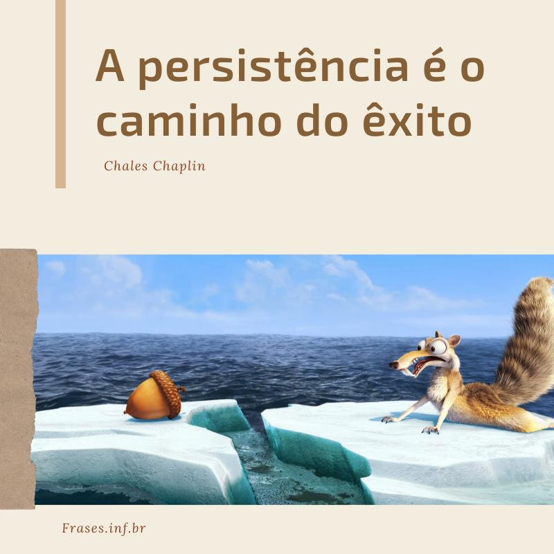 Frases de incentivo e persistência