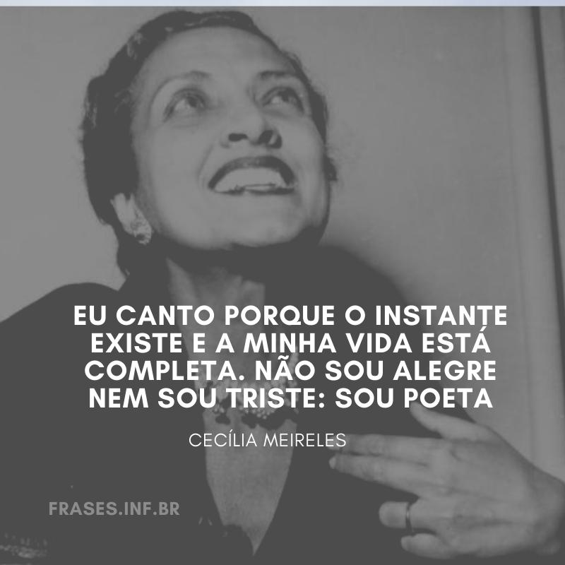 Poesia de Cecília Meireles