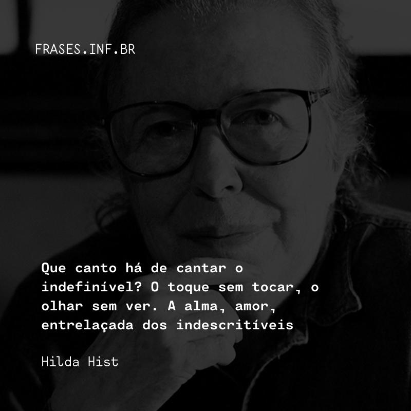 Frase de Hilda Hist