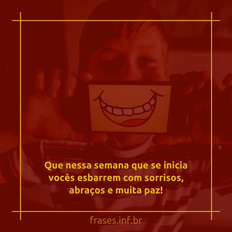Frase sorridente