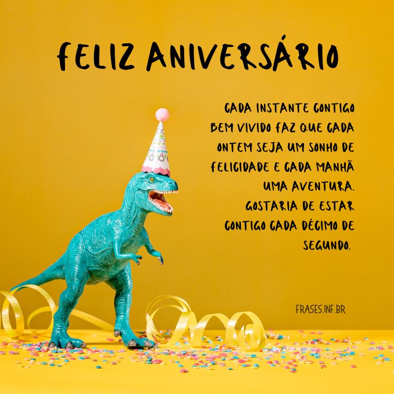 Frase de feliz aniversário